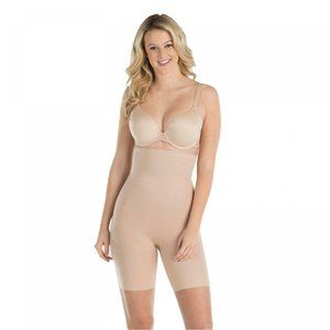 NWT Assets by SPANX Mid Thigh Shaper Small Neutral
